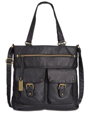 Style & Co. Washed Crossbody Tote,  Only at Macy's