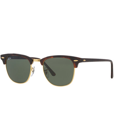 Ray-Ban Sunglasses, RB3016 51 CLUBMASTER