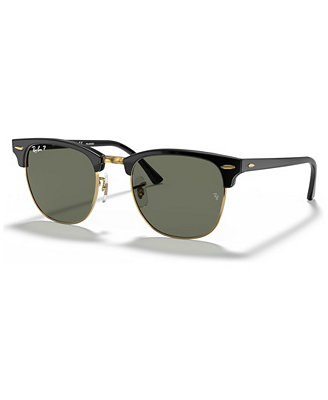 Polarized Clubmaster Sunglasses, Rb3016 by Ray Ban