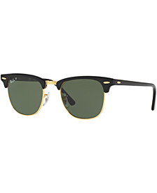 Ray-Ban CLUBMASTER Polarized Sunglasses, RB3016