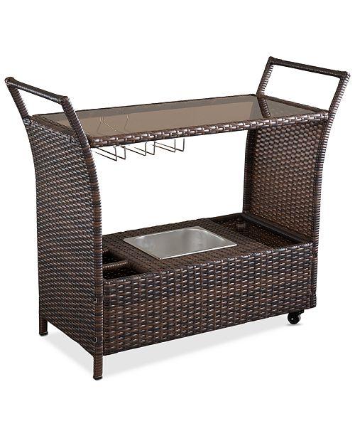 Furniture Kiptyn Bar Cart, Quick Ship