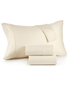 CLOSEOUT! Sorrento Queen 6-Pc Sheet Set, 500 Thread Count, Created for Macy's