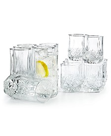Brighton 16-Pc. Glassware Set