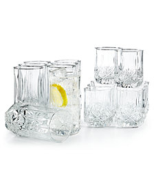 Luminarc Brighton 16-Pc. Glassware Set