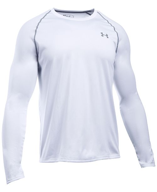 225ff93ca923 Under Armour Men s Tech Long-Sleeve T-Shirt   Reviews - T-Shirts ...
