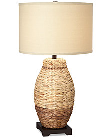 Pacific Coast Seagrass Urn Table Lamp