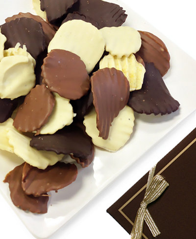 Chocolate Covered Company 8-oz. Belgian Chocolate Covered Potato Chips
