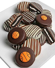 Chocolate Covered Company  10-Pc. Basketball Belgian Chocolate Covered OREO® Cookies