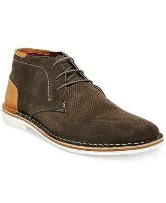 Steve Madden Men's Hendric Suede Chukka Boots