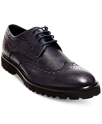 Steve Madden Men's Marlen Wingtip Dress Oxfords