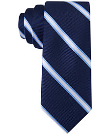 Tommy Hilfiger Repp Stripe Tie, Big Boys
