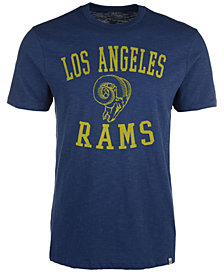 '47 Brand Men's Los Angeles Rams Retro Logo Scrum T-Shirt