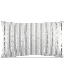 "Hotel Collection Modern Plaid 12"" x 20"" Decorative Pillow, Created for Macy's"