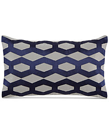 "Hotel Collection Cubist 12"" x 20"" Decorative Pillow"