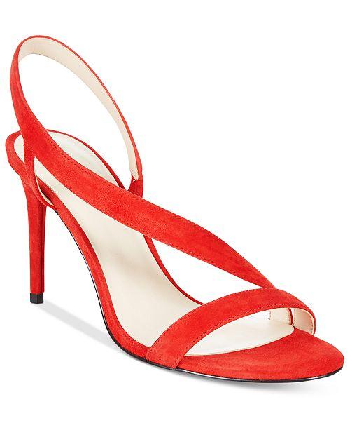 Nine West Rhyan Asymmetrical Strap Sandals