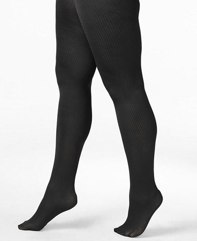 Berkshire Plus Size Easy-On Ribbed Tights 5038