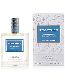 Pour le Monde TOGETHER Certified 100% Natural Eau de Parfum, 1.7 oz