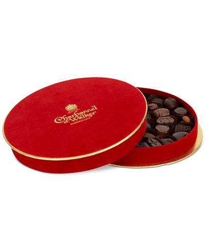 Charbonnel et Walker Red Velvet Boite Rouge Dark & Milk Chocolate Selection