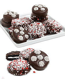 Chocolate Covered Company  Peppermint Belgian Chocolate-Covered Oreo Cookies