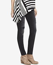 Jessica Simpson Maternity Black Wash Skinny Jeans