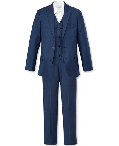 Calvin Klein Boys' Infinite Jacket, Vest & Pants Separates