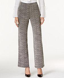 JPR Tweed Wide-Leg Pants