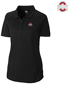 Cutter & Buck Women's Ohio State Buckeyes Drytec Northgate Polo Shirt