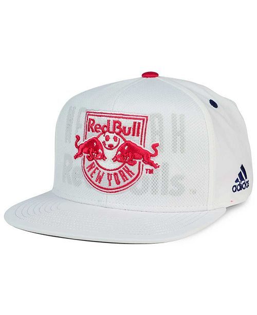 adidas New York Red Bulls Authentic Team Snapback Cap