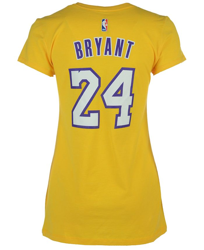 adidas Women's Kobe Bryant Los Angeles Lakers Player T-Shirt ...