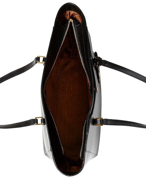 Lauren Ralph Lauren Newbury Halee Tote   Reviews - Handbags ... 816b5988f548f