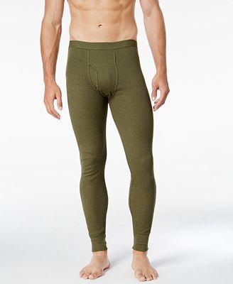 Alfani Men's Underwear, Big & Tall Waffle Knit Base Layer Long ...