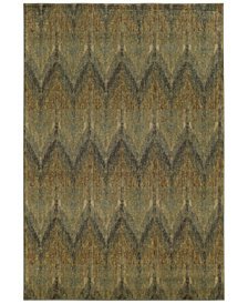 "Tommy Bahama Home Voyage 508X Blue 3' 10"" x 5' 5"" Area Rug"