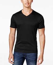 Men's Soft Touch Stretch V-Neck T-Shirt, Created for Macy's
