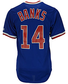 Majestic Men's Ernie Banks Chicago Cubs Cooperstown Replica Jersey