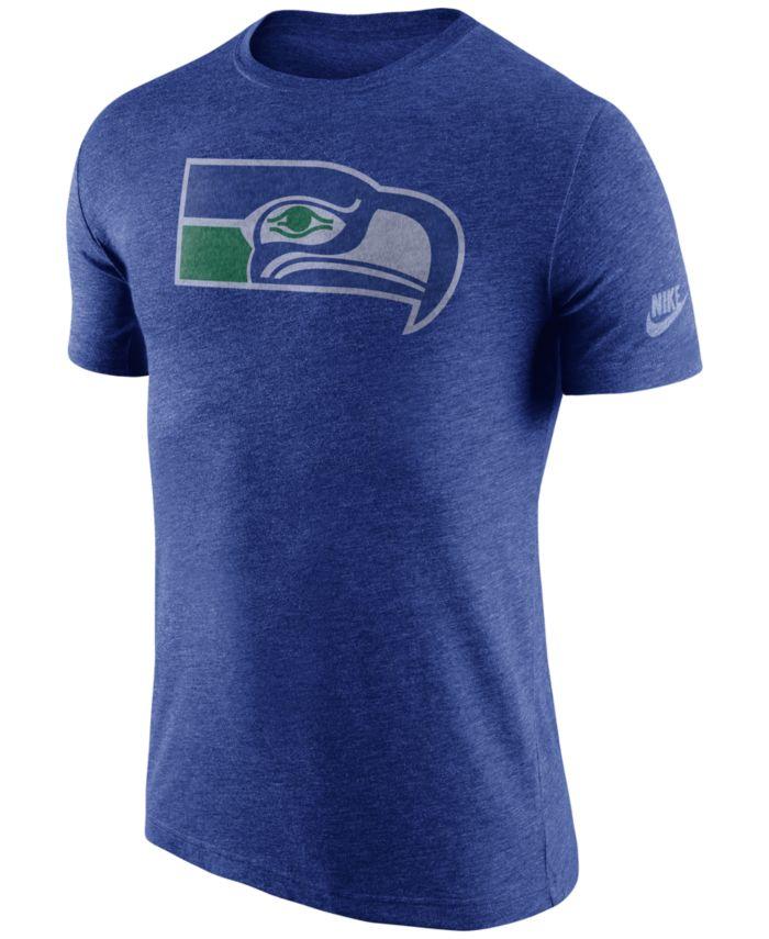 Nike Men's Seattle Seahawks Historic Logo T-Shirt & Reviews - Sports Fan Shop By Lids - Men - Macy's