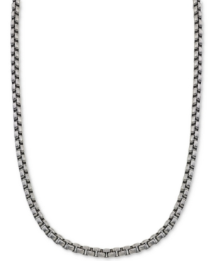Large Box-Link Chain in Stainless Steel
