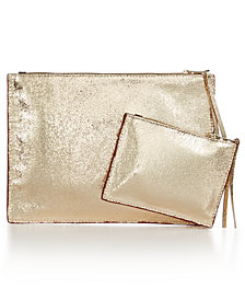 Home Design Studio Small and Large Pouch Set, Created for Macy's