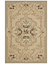 CLOSEOUT! D Style Beacon BEA4 Ivory Area Rugs