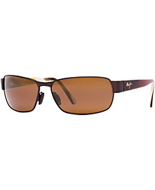 Maui Jim Polarized Black Coral Sunglasses, 249