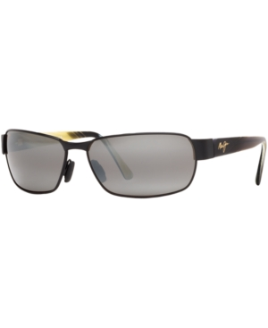 Maui Jim Polarized Black Coral Polarized Sunglasses, 249
