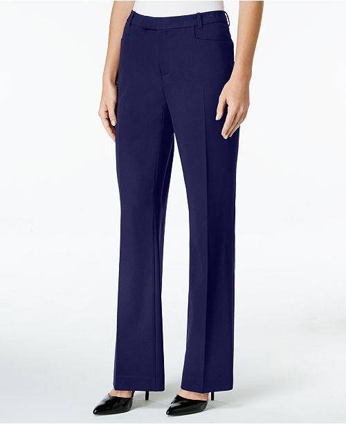 Tommy Hilfiger Modern Straight-Leg Modern Dress Pants
