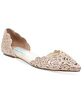 c4142d98676 Blue by Betsey Johnson Lucy Embellished Flats