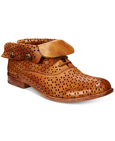 Patricia Nash Sabrina Perforated Ankle Booties