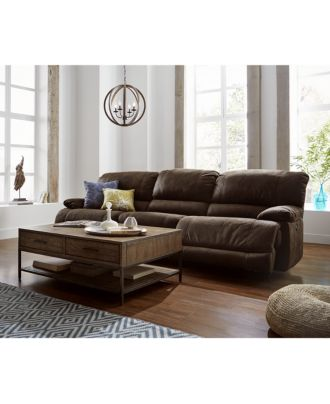 jedd fabric power reclining sofa collection - furniture - macy's