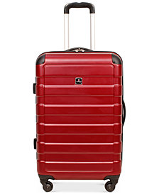 "Tag Matrix 24"" Hardside Spinner Suitcase, Created for Macy's"