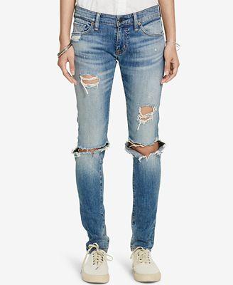 5561cb278bf1a3 Denim   Supply Ralph Lauren Distressed Skinny Jeans - Jeans .