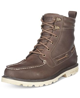 Sperry Men's A/O Lug Waterproof Boots - All Men's Shoes - Men - Macy's