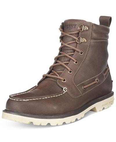 Sperry Men's A/O Lug Waterproof Boots - All Men's Shoes - Men - Macy's