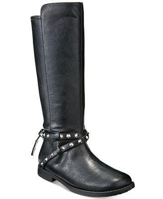 Ivanka Trump Girls' or Little Girls' Nancy Rider Boots