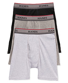 Hanes Platinum 3-Pk. Boxer Briefs, Little Boys & Big Boys